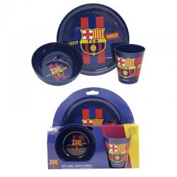 Set de desayuno del F.C.Barcelona.