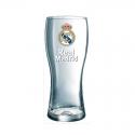 Vaso grande cerveza del Real Madrid.