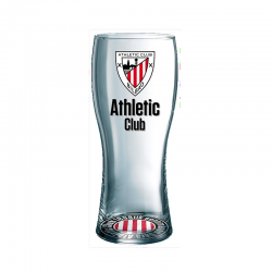 Verre à bière Athletic de Bilbao.