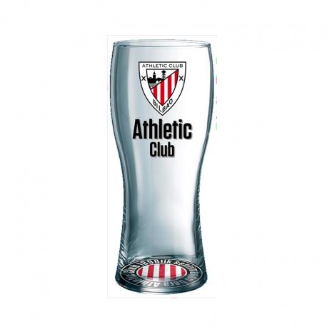 Vaso grande cerveza del Athletic de Bilbao.