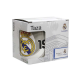 Taza mug porcelana del Real Madrid.