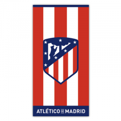 Atlético de Madrid Beach towel.