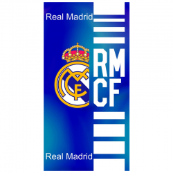 Toalla de playa del Real Madrid.