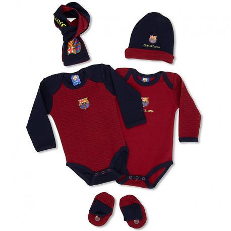 F.C.Barcelona Newborn pack.
