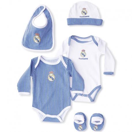 Pack recién nacido del Real Madrid.