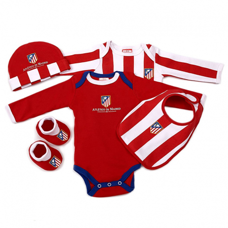 Pack recién nacido del Atlético de Madrid.