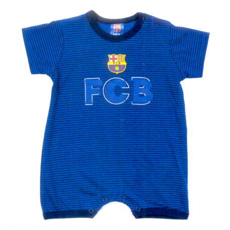 F.C.Barcelona Summer babygrow.