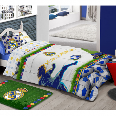 Edredón comforter de 90 cm. del Real Madrid.
