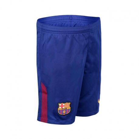 F.C.Barcelona Kids Home Shorts 2017-18.