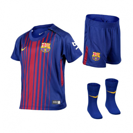 Box bebe 1ª equipación F.C.Barcelona 2017-18.
