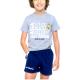 Pyjama junior Real Madrid manches courtes.