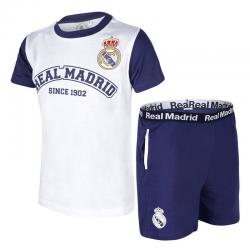 Pijama de niño de manga corta del Real Madrid.