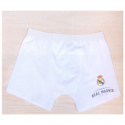 Boxer de lycra del Real Madrid.