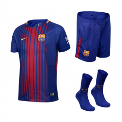 Kit F.C.Barcelona domicile 2017-18 enfant.