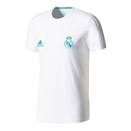 Camiseta de entrenamiento Real Madrid 2017-18.