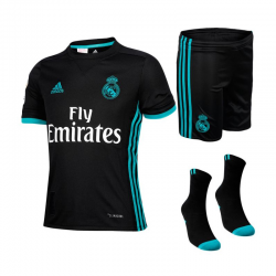 Kit Real Madrid Exterieur 2017-18 junior.