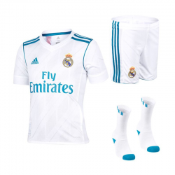 Real Madrid Home Minikit 2017-18 Kids.
