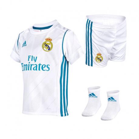 Conjunto de bebé Real Madrid 2017-18.