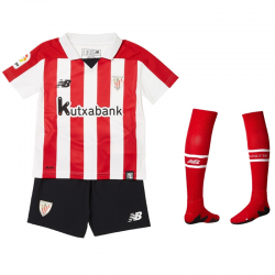 Athletic de Bilbao Little Boys Home Kit 2017-18.