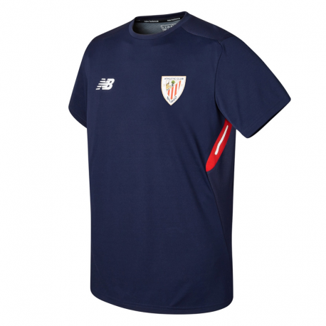 Camiseta de entrenamiento adulto Athletic de Bilbao 2017-18.