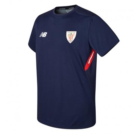 Camiseta de entrenamiento adulto Athletic de Bilbao 2017-18.