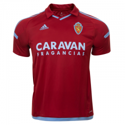 Camiseta oficial 2ª equipación Real Zaragoza 2017-18.
