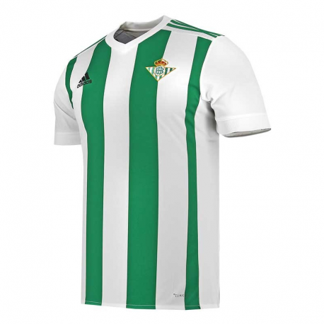 Camiseta oficial 1ª equipación Real Betis 2017-18.