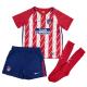Minikit niños pequeños 1ª equipación Atlético de Madrid 2017-18.