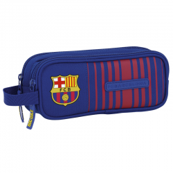 F.C.Barcelona double Pencil Case.