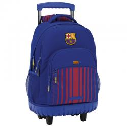 Mochila grande con ruedas compact del F.C.Barcelona.
