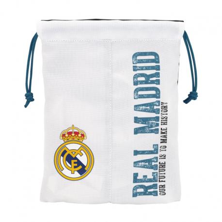 Saquito merienda del Real Madrid.