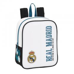 Mochila guardería del Real Madrid.