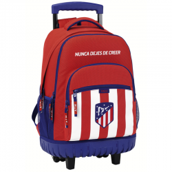 Atlético de Madrid Big compact trolley rucksack.
