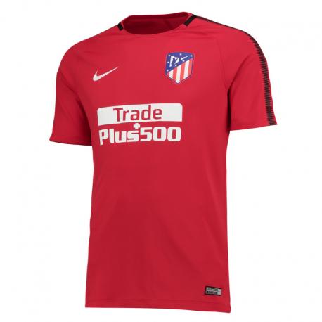 Camiseta entrenamiento adulto Atlético de Madrid 2017-18.