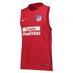 Camiseta entrenamiento sin mangas adulto Atlético de Madrid 2017-18.