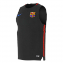 Camiseta entrenamiento sin mangas adulto F.C. Barcelona 2017-18.
