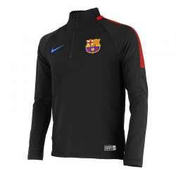 Sweat d'entraînement F.C.Barcelona 2017-18 junior.