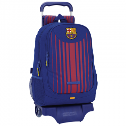 F.C.Barcelona Big rucksack with trolley.