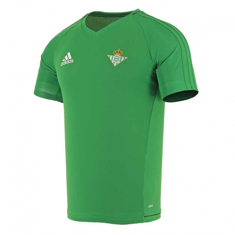Camiseta de entrenamiento adulto Real Betis 2017-18.