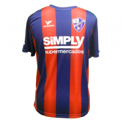 S.D. Huesca Adult Home Shirt 2017-18.