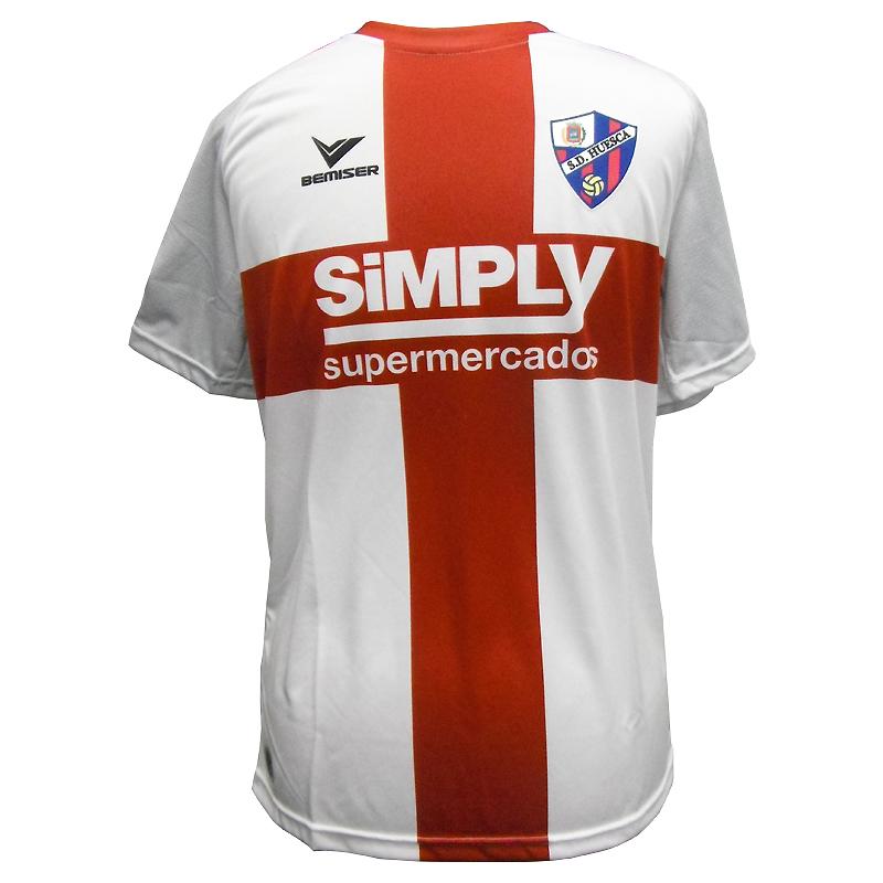 Camiseta oficial adulto 2ª equipación S.D. Huesca 2017-18. - Forofos a2d840ba6c1ff