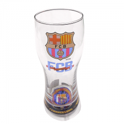 F.C.Barcelona Beer Large glass.