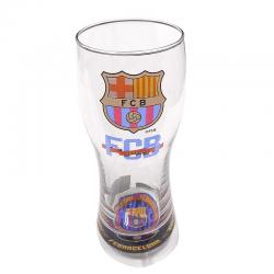 Vaso grande cerveza del F.C.Barcelona.