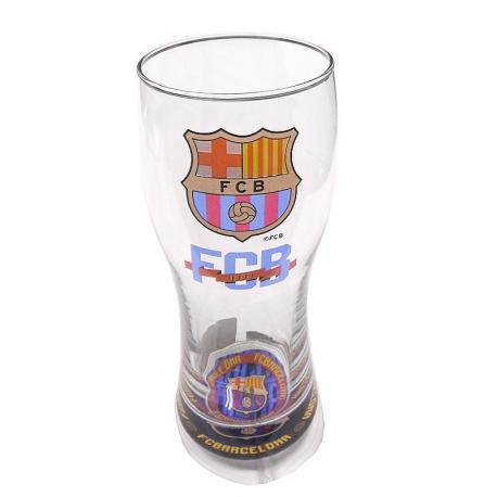 F.C.Barcelona Beer Large glass.