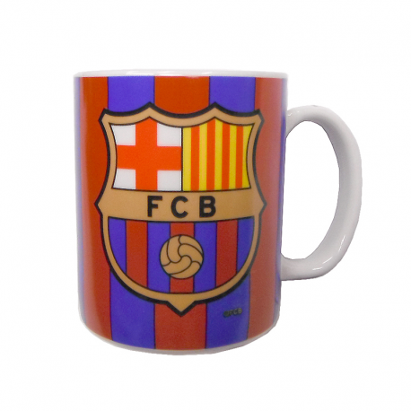 F.C.Barcelona Cup porcelain mug.