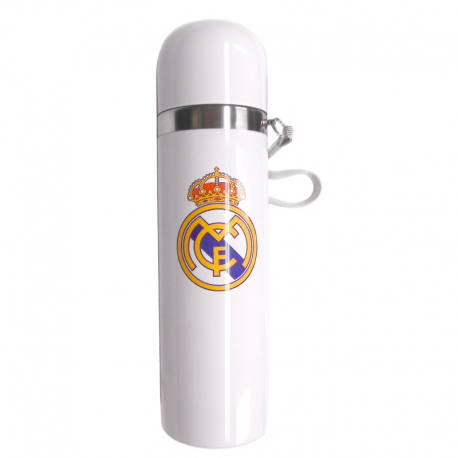 Jarra termo del Real Madrid.