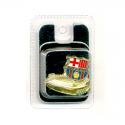 Pin de metal del F.C.Barcelona.