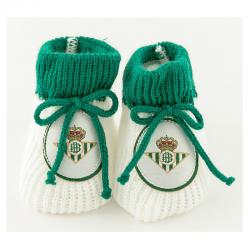 Real Betis Baby socks.