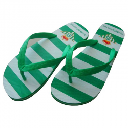 Chanclas del Real Betis.