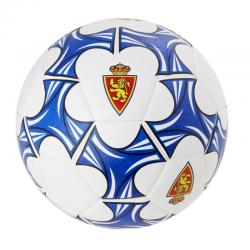 Balón de fútbol del Real Zaragoza.